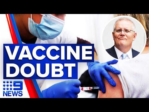 Coronavirus: Scott Morrison throws doubt on vaccine rollout | 9 News Australia thumbnail