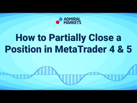 How to Partially Close a Position in MetaTrader 4 & 5
