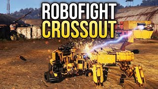 Crossout Robofight: ПИКА-ЗВЕРЬ vs ПУЛЕМЕТНЫЙ ШМЕЛЬ