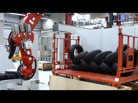 Güdel - Tire Industry - Sorting Application