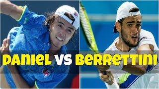 Taro Daniel vs Matteo Berrettini | 1R Istanbul 2018 Highlights HD