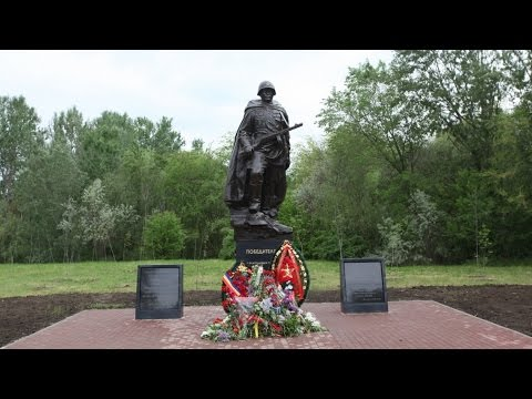 Памятник Советскому Солдату торжественно открыли в Кумженской роще