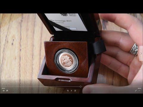 Unboxing & Review - 2017 Gold Proof Sovereign
