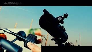 Celestron Astromaster 130 Eq Telescope : Set Up & Use