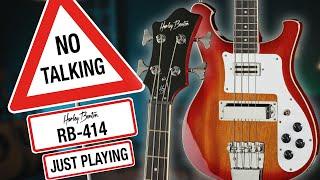 Harley Benton - No Talking - RB-414 - Just Playing -