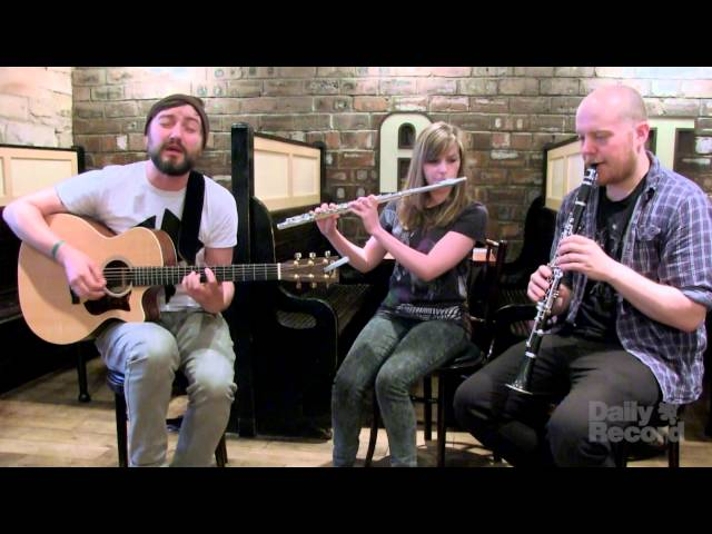 Admiral Fallow 'Guest of the Government' acoustic at Velvet Elvis