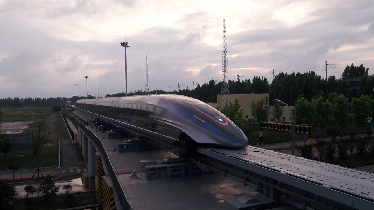 Download World's first 600 km/h high-speed maglev train rolls off assembly line