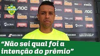 OLHA o que SIDÃO falou após ganhar o prêmio CRAQUE do JOGO da Globo!