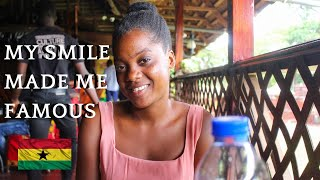 SHE BECAME FAMOUS ON YOUTUBE WITHOUT A YOUTUBE CHANNEL  Q AND A WITH A YOUNG GHANAIAN GIRL