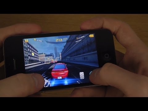 IPhone 4S IOS 7.1.1 - Gaming Review