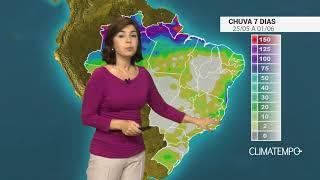 Confira a previsão de chuva para o BR nos próximos dias