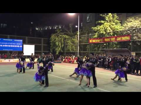 GSV Khiêu vũ thể thao 2016 - Đại học Ngoại thương - Đồng diễn tự chọn