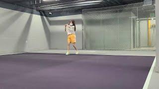 ●테린이 13회차● 포핸드 l 테니스 배우기 l 테니스…