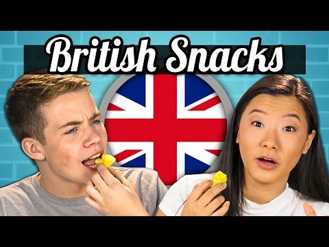 TEENS EAT BRITISH