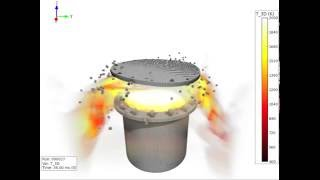 ガス爆発による構造体破壊の数値シミュレーション