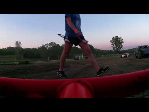 OKLAHOMA SHARP MINI LATE MODELS CANEY VALLEY SPEEDWAY HOT LAPS 9-23-17