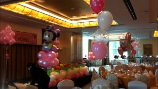 Balloons decorations (by ONE PARTY STORE)