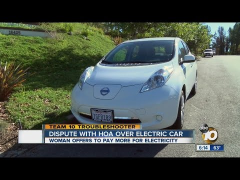 Hoa Refuses To Let Woman Charge Electric Car