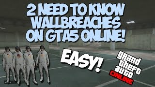 ONLY 1% OF PEOPLE KNOW THESE WALLBREACHES ON GTA5 ONLINE! (Must Watch)