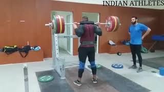 Weight Training of Indian shot puter Toor Tejinder Singh