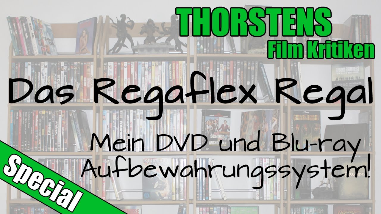 Das Regaflex Regal! Mein DVD und Blu-ray Aufbewahrungssystem ...