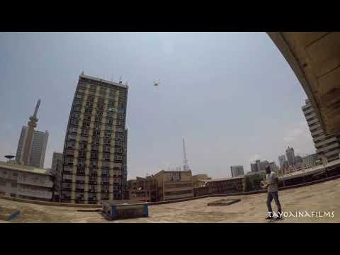 How i Flew a Drone in Marina Lagos