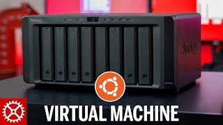 Ubuntu Virtual Machine Running on a Synology NAS