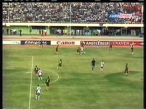 1998 (February 7) Burkina Faso 0- Cameroon 1 (African Nations Cup)