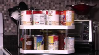 Weight Off Balance Spin Test Of The Lazy Susan Spice Rack