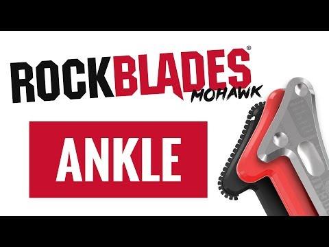 RockTape - RockBlades Mohawk Tutorial - Ankle