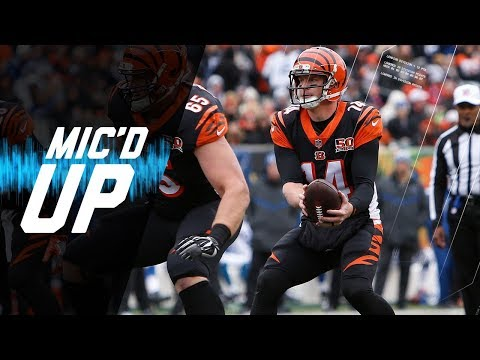 "Andy Dalton Mic'd Up vs. Colts ""See How I Know What They're Doing"" 