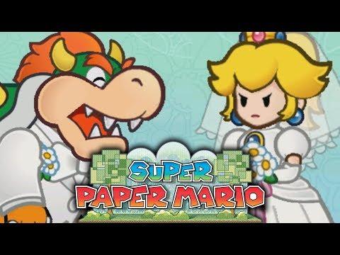 PEACH ET BOWSER SE MARIENT ?! - SUPER PAPER MARIO #01