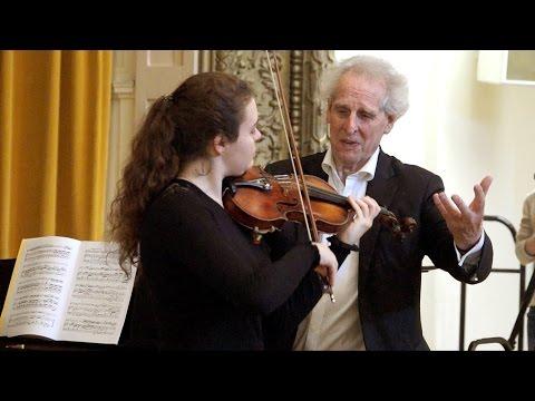 Interpretation Class: Mozart - Concerto No. 4, Mvts. 1 & 2