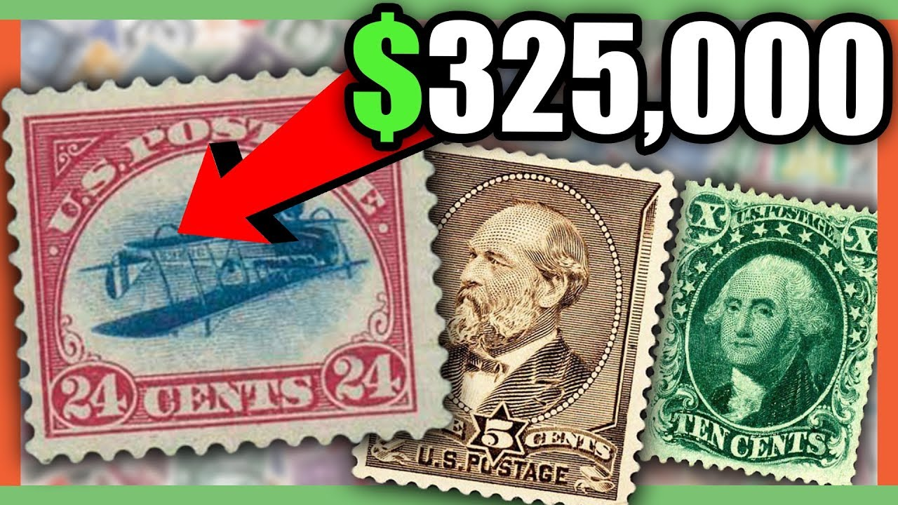 $500,000 OLD STAMP - RARE AND VALUABLE STAMPS WORTH MONEY
