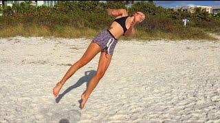 HOW TO: swim in the ocean in beast mode! lol!