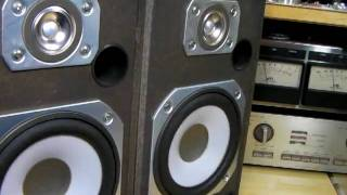 Victor S-E2 Made in 1982. Speaker System (Bass I Love You)