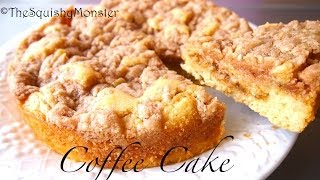 How To Make Coffee Cake - Moist Cake Recipe