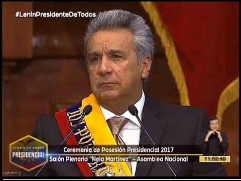 Discurso del Presidente de la República de Ecuador