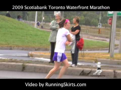 Scotiabank Toronto Waterfront Marathon 2009 - Records Set in Mens & Women's Marathon