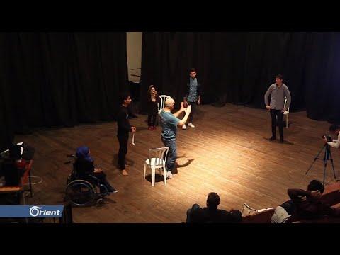 مخرج ينقل خبراته بفنون المسرح المكتسبة في سوريا إلى قطاع غزة  - 17:53-2018 / 12 / 4