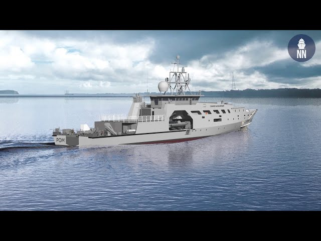 French Navy's future POM Offshore Patrol Vessels built by Socarenam