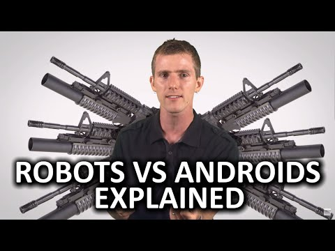 Robots vs Androids as Fast As Possible
