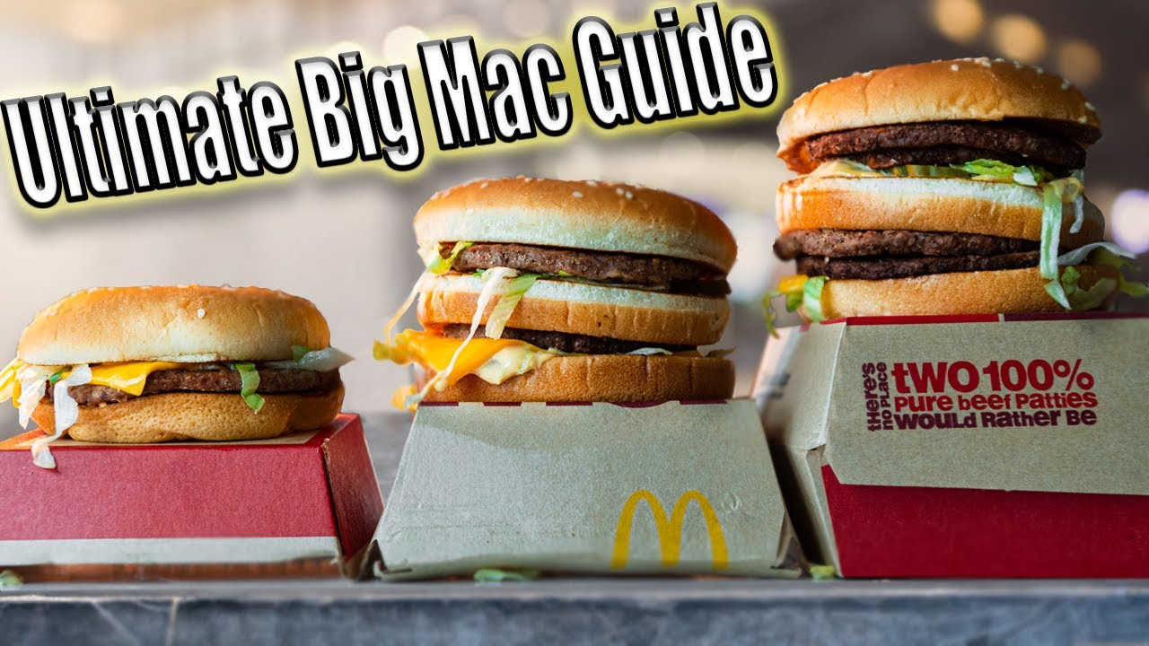 Does Size Really Matter? The Ultimate Big Mac Guide