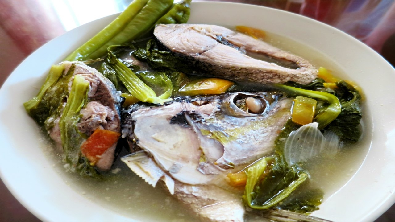 Sinigang Na Salmon Sa Miso Michellecookingdiary Youtube