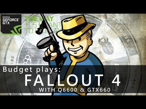 BUDGET  plays Fallout 4 (Exploration) | Q6600 & GTX660 | 4GB