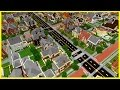Minecraft PE Maps - Huge Realistic NEIGHBORHOOD City with Download - MCPE 1.1 / 1.0 / 1.0.6