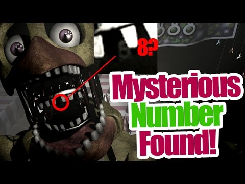 Mysterious number found? in Chica's mouth! (five nights at freddy's 2 theory)