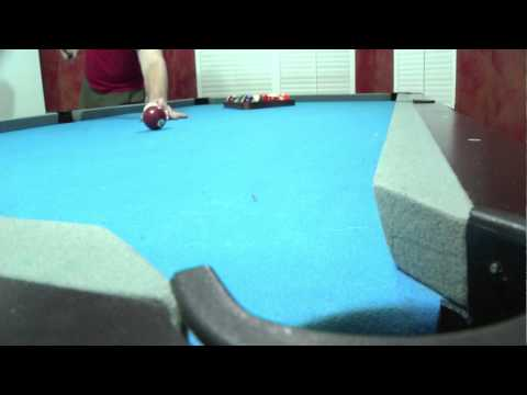 Draw Shot Exercise, Pool Shots, Billiards Lessons Wilmington NC Draw Shot