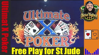 Ultimate X Poker Live @ Choctaw Casino FreePlay for St Jude!