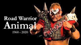 WWE Road Warrior Animal Tribute (1960-2020)